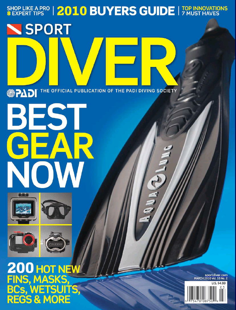 Sport Diver Magazine – Best of 2010